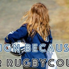 Her rugby counts
