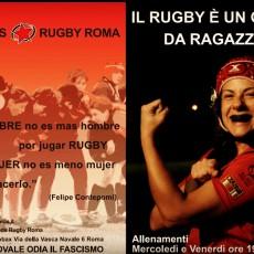 Il rugby è un gioco da ragazze!